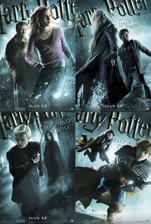 harry potter and the half blood prince movie posters