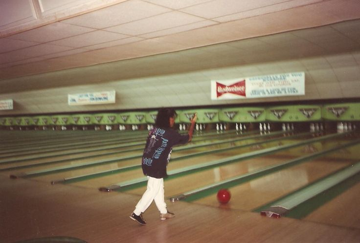 Out bowling in the Mia! Get it Paula!