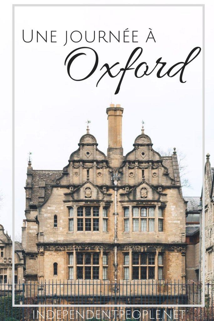 Une journée à Oxford