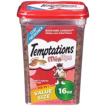 Temptations Mix Ups Backyard Cookout Cat Treats, 16 Oz