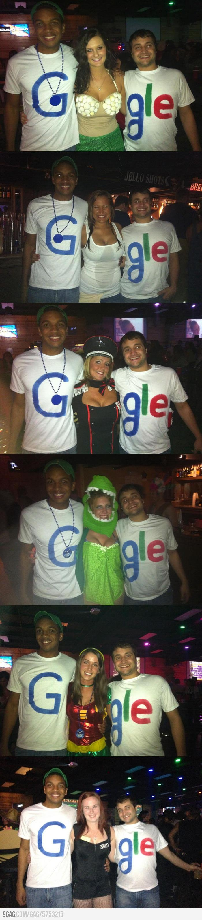 Guys from (or dress like) Google are pretty smart.