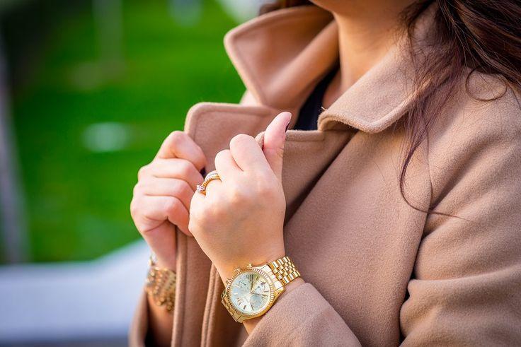 rochie asimetrica, cojocel si palton camel (5)