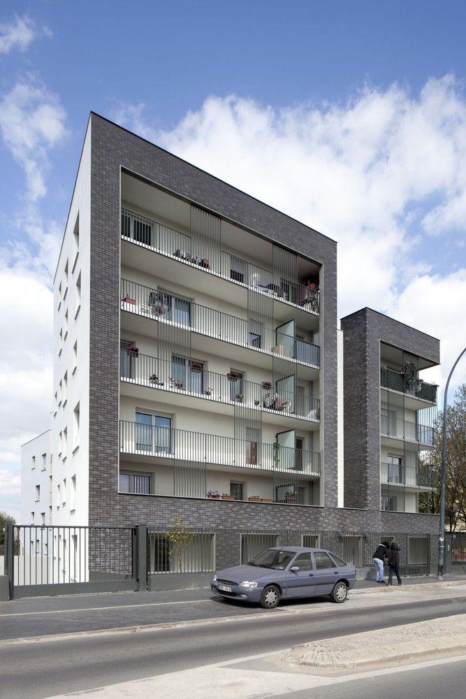 Galería de Edificio de Viviendas Saint Denis / Ateliers O-S architectes - 2