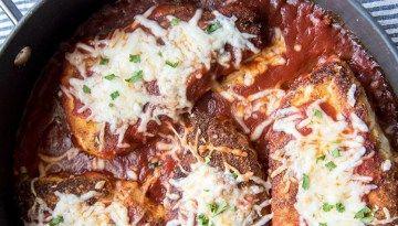 Receta italiana de pollo envuelto en jamón