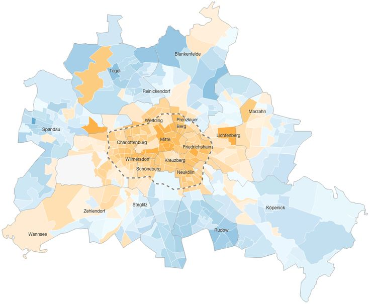 Die Geschichte der Berliner Bevölkerung seit dem Mauerfall ist die des großen Austauschs. Eine Daten-Auswertung bestätigt und widerlegt Vorurteile.