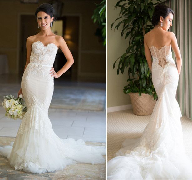 1000+ images about Vintage Lace Wedding Dresses With ...