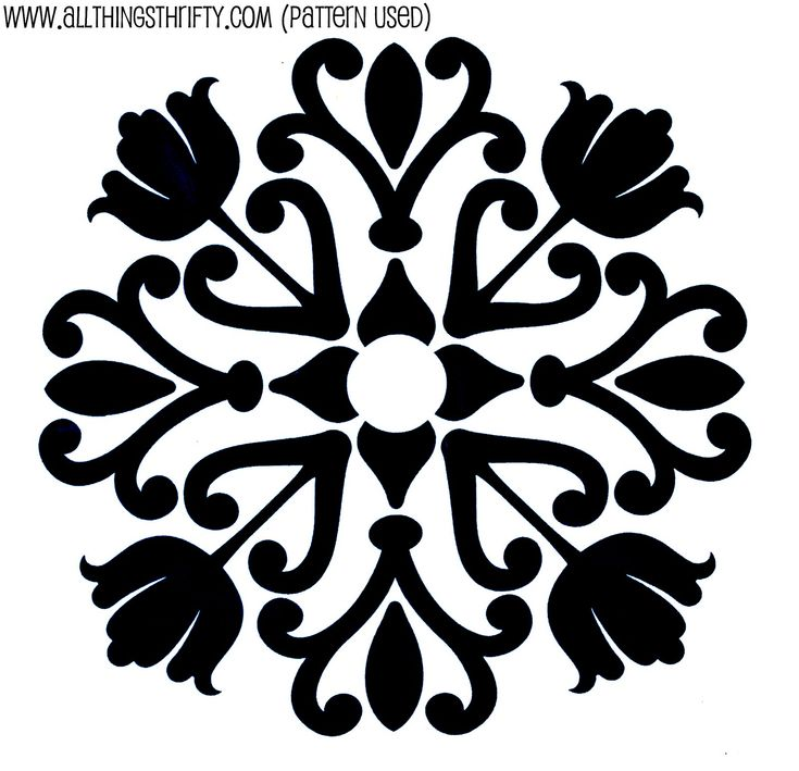 5 free stencil patterns great to use for a wall wrapping paper or gift - Printable Drawing Stencils