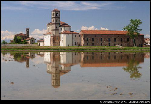 Abbazia di Lucedio (Vercelli, Piemonte, Italia)