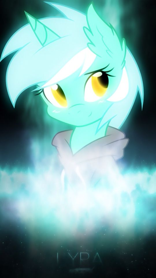 Omg, it's Lyra from the Background Pony fanfic!
