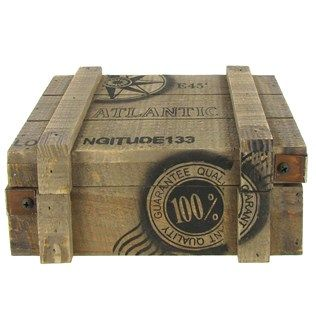 Nautical Wood Box   Shop Hobby Lobby. 17 Best images about Nautical Home Decor on Pinterest   Pickling