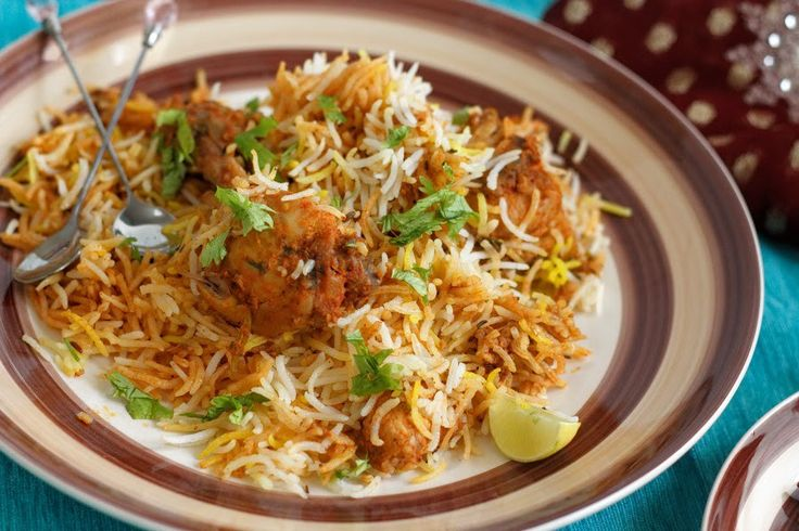 indian chicken biryani masala