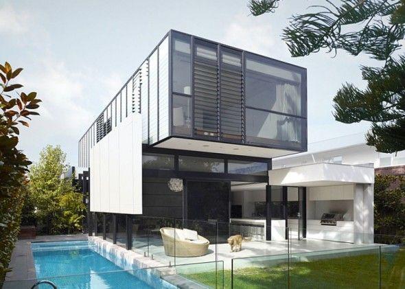 Modern Minimalist Exterior Home Design 5