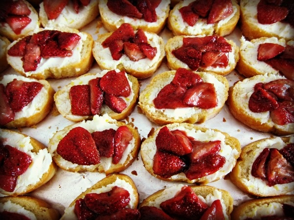 Roasted strawberries, Goat cheese and Goats on Pinterest