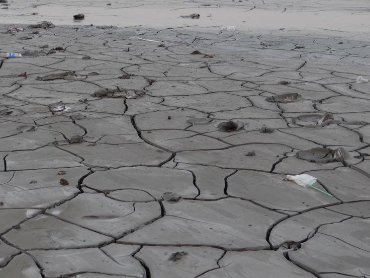Lapindo Mud diasaster in Porong Sidoarjo East Java Indonesia