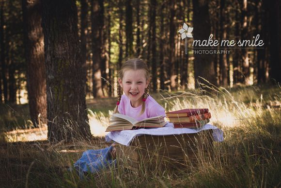 Canberra Child Photography, Make Me Smile Photography, Stylised Child Photography, Books