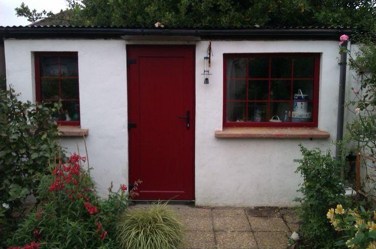 Red PVC Doors