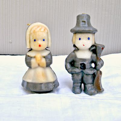 Vintage Gurley Candles. I still have these from my mom, and display them each year.