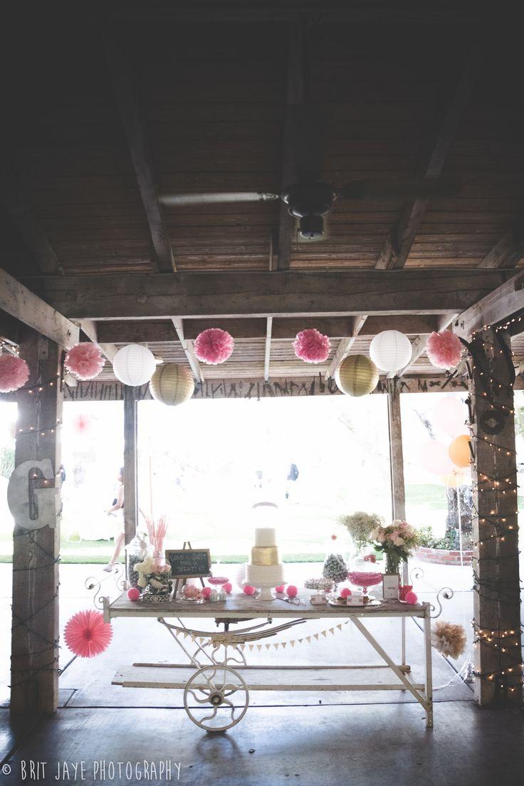 Bernardo Winery Wedding Rustic Desert Table Decoration San Diego CA
