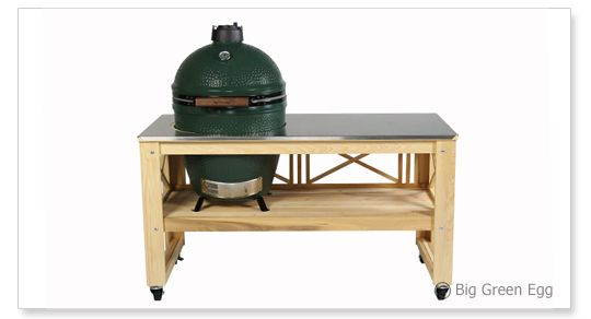 Lattice Table With Optional Stainless Steel Top Our Big Green Egg Tables  Are U201cMade In The USAu201d From Cypress Wood, Which Is A Beautiful, Straight Gu2026