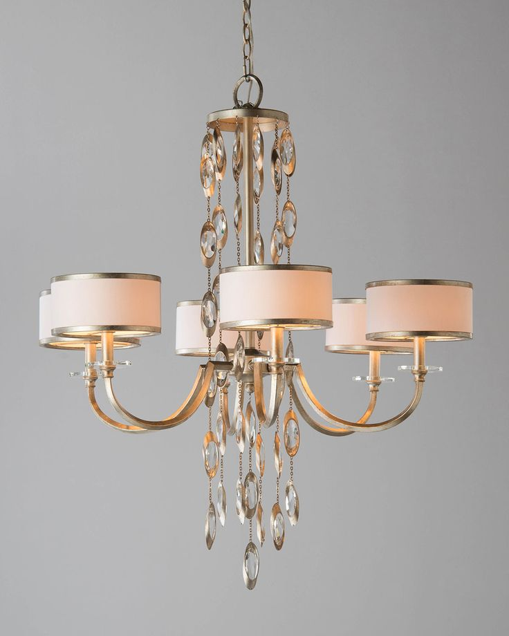 Counterpoint Six Light Chandelier White John Richard Collection