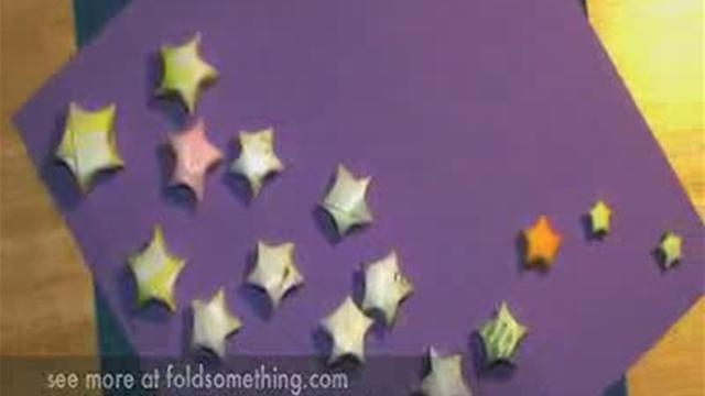 146 best images about origami on pinterest for Lucky star folding