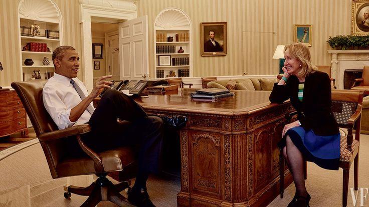 #OBAMA IN #CONVERSATION WITH #HISTORIAN DORIS KEARNS GOODWIN...