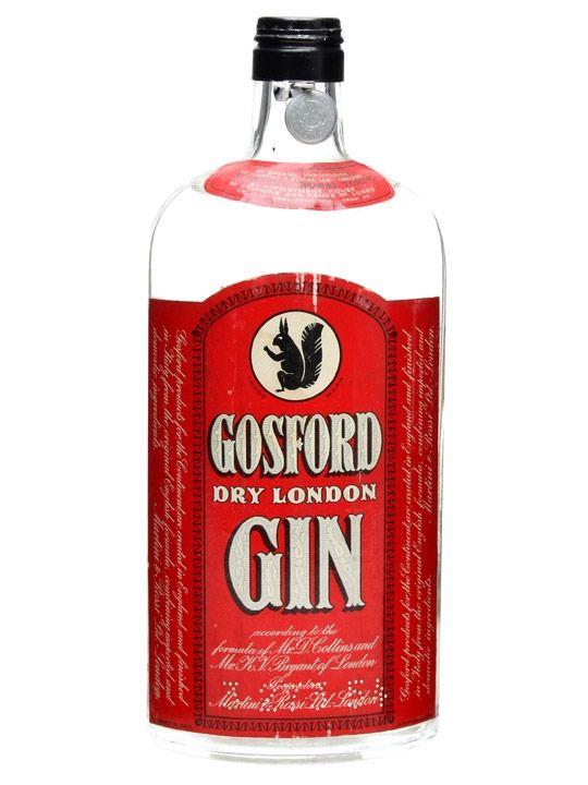 Gosford Dry London Gin / Bot.1950s