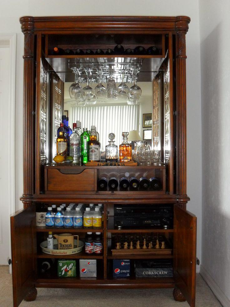 Repurposed Dresser Into Buffet