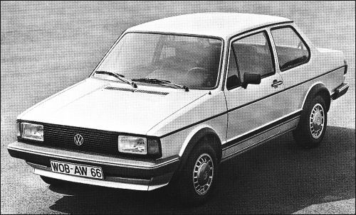 In 1979 the Volkswagen Jetta was launched. Golf with a boot
