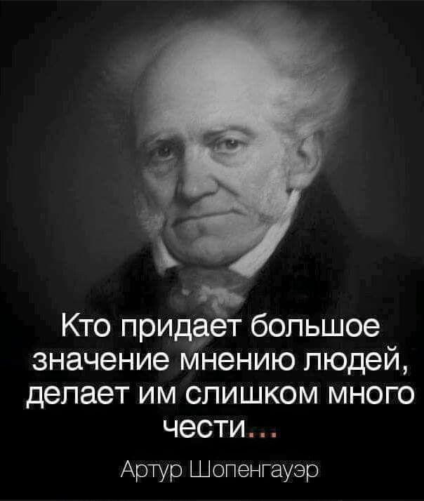А. Шопенгауэр