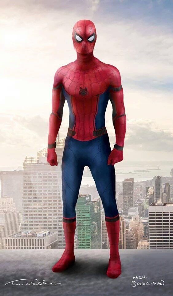 Spider-Man MCU Fanmade Artwork