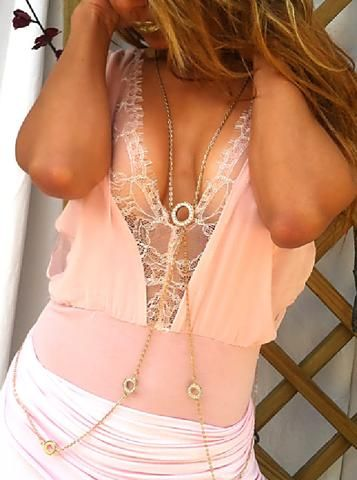 Body Chain - Sash - by Drizzle Jewellery