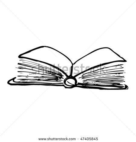 sketch of scroll and feather quill - Google Search