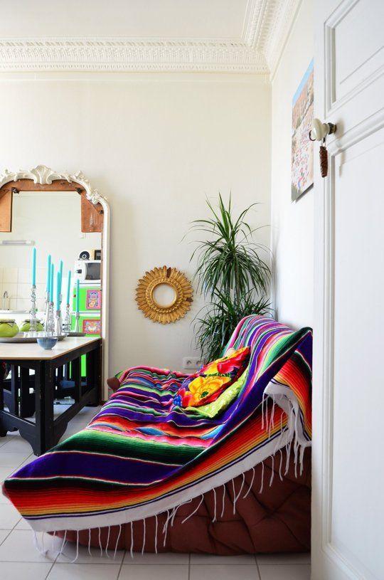 Vintage Home Decor Inspiration | Southwestern Boho | Bohemian Southwest | Chic Modern | Paris | #fabdecor