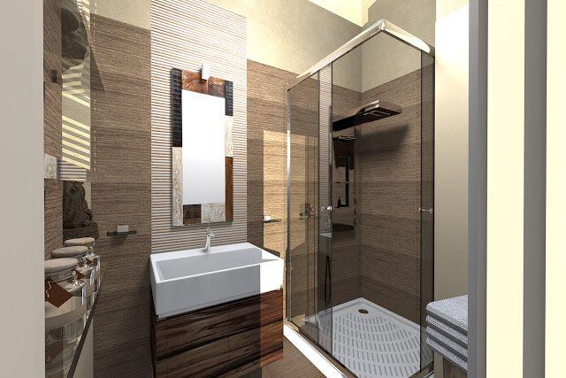 Malá kúpelňa v etnickom štýle   Living Styles