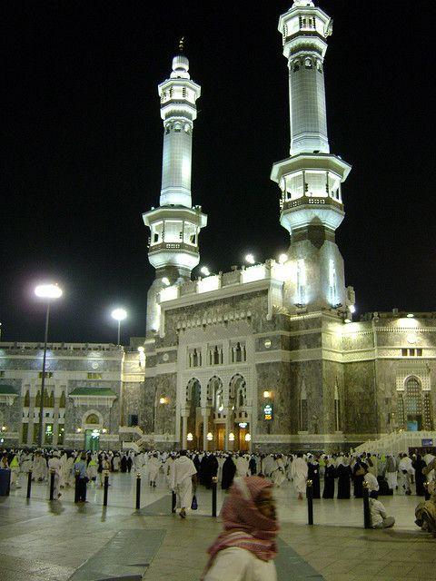 Minarets and King of Abdulaziz Gate - Saudi Arabia