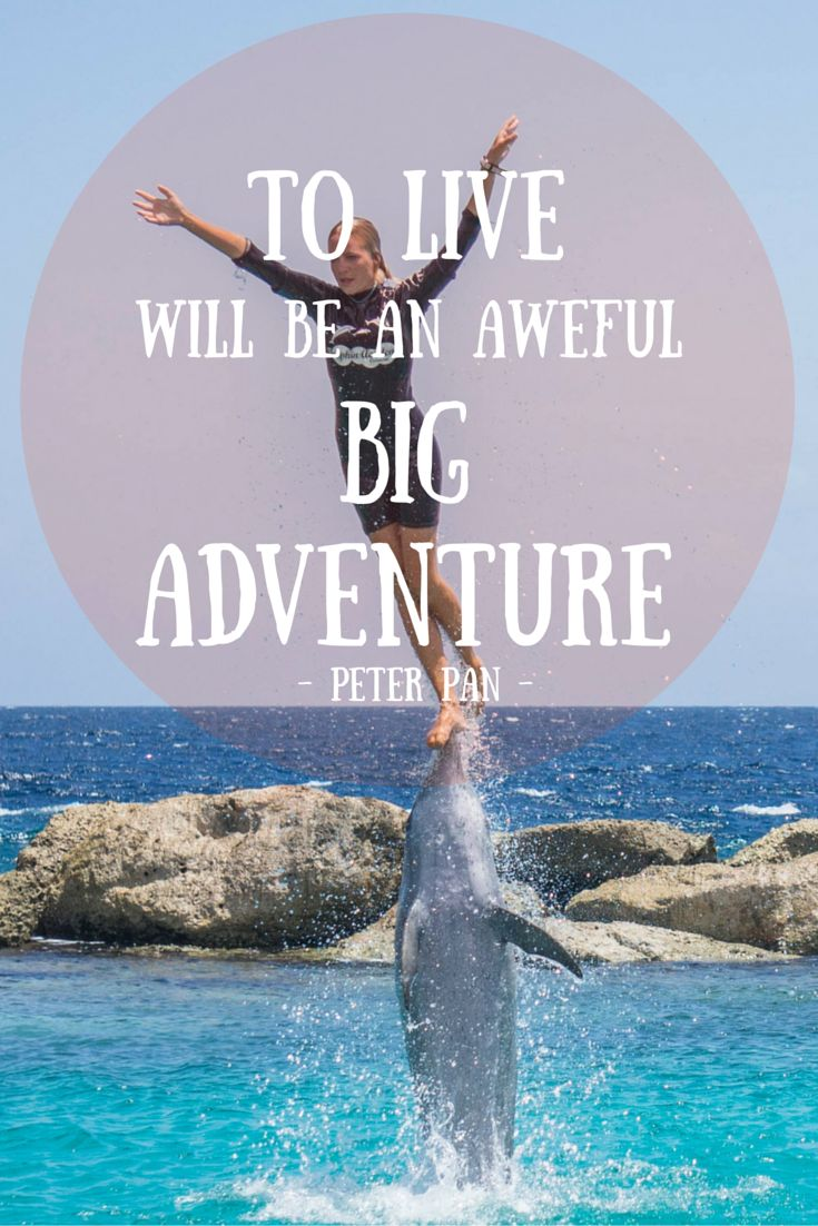 """As we say, """"Adventure is Out There""""!! :)"""