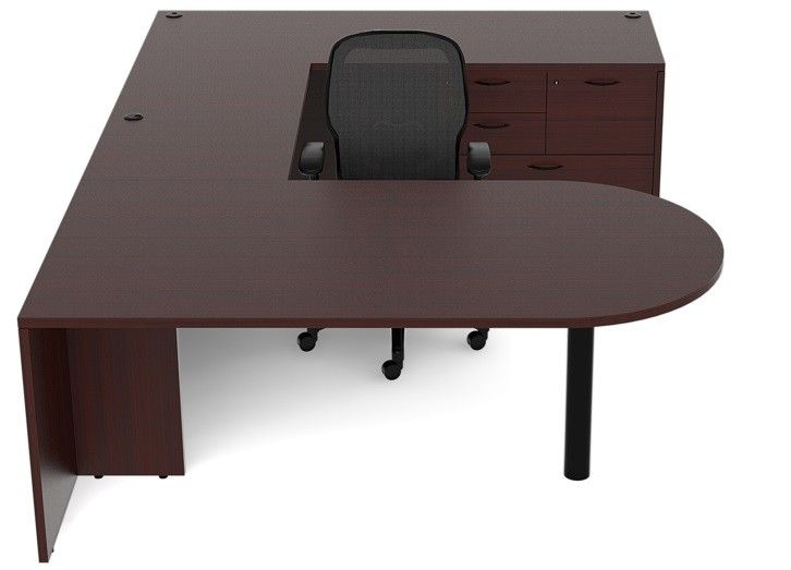 about new desks on pinterest receptions shape and office furniture