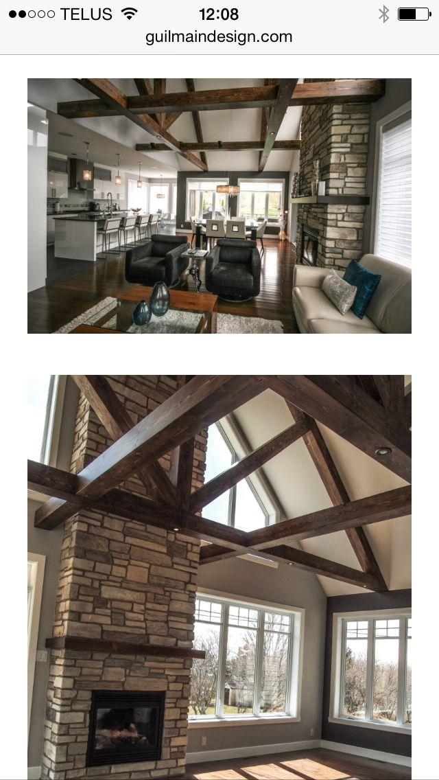 maison toit cath drale r ves pinterest. Black Bedroom Furniture Sets. Home Design Ideas