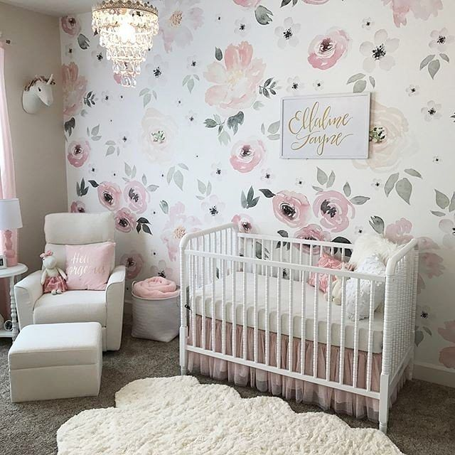 Celebrity Design Reveal Tamera Mowry S Nursery: 563 Best Floral Nursery Ideas Images On Pinterest
