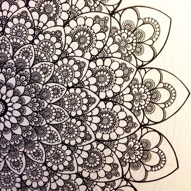 3202 best Shapes colors zentangle mandala art images on ...