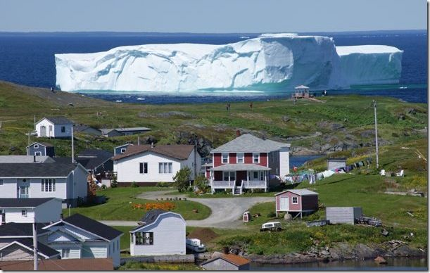 blocked by iceberg (newfoundland)