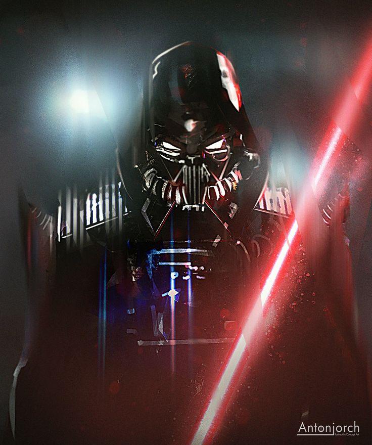 Vader 1, Jorge Gonzalez on ArtStation at https://www.artstation.com/artwork/vader-1