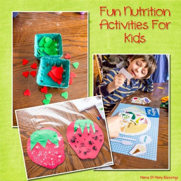 Food And Activities: 17 Best Ideas About Nutrition Activities On Pinterest