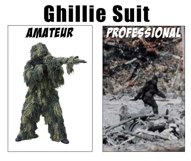 Ghillie Suit, Big Foot