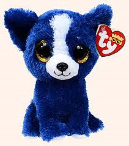 *Ty Beanie Boos*   Type: Dog - Chihuahua Name: T-Bone Birthday: March 13th Introduced: January 2014 Retired: April 12, 2014