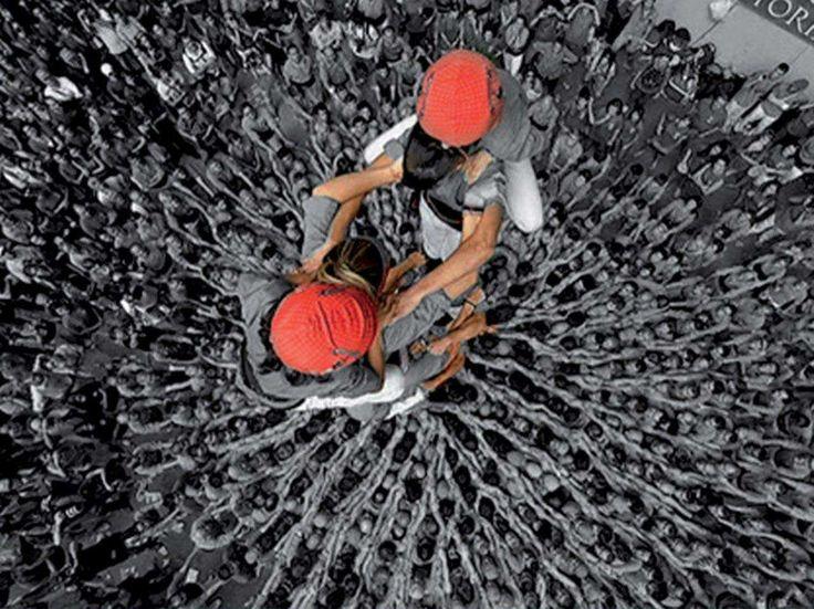 2d8 sense folre dels Castellers de Vilafranca, en el Concurs de Castells de Tarragona.