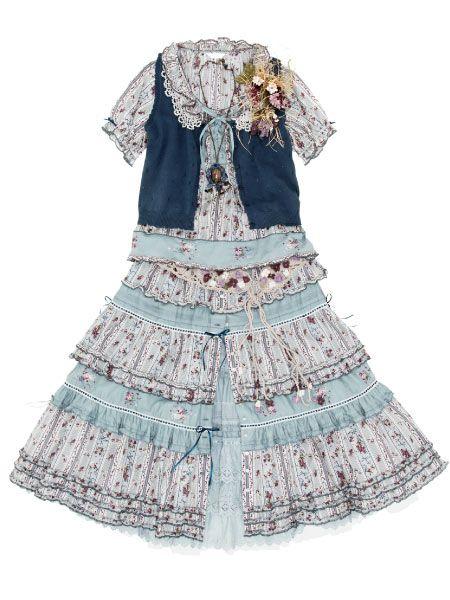 Mori Girl / Natural Kei Outfit