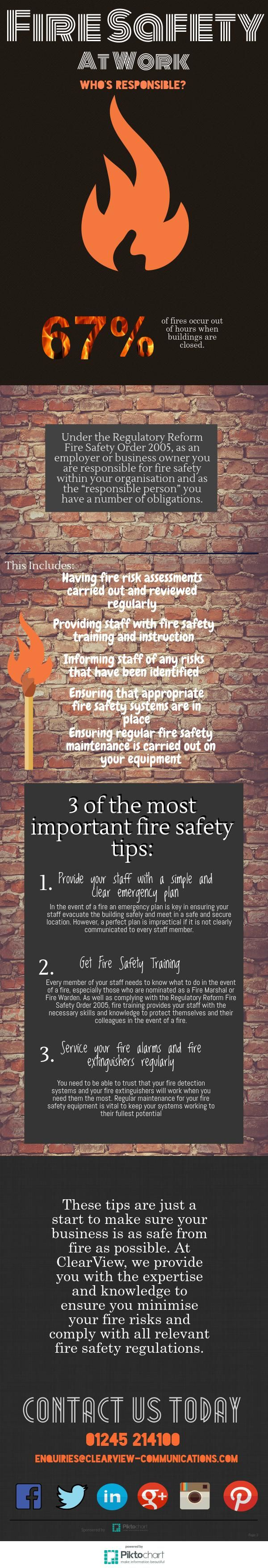 Fire Safety At Work