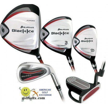 Orlimar Mens Black Ice Edition Complete Golf Club Sets